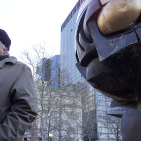 Fritz Koenig, sculptor whose art withstood 9/11 attack, dies