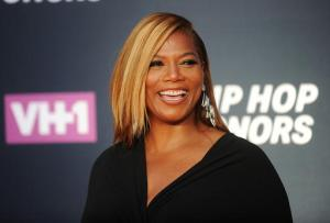 FILE - In this Monday, July 11, 2016, file photo, Queen Latifah arrives at VH1's Hip Hop Honors at David Geffen Hall at Lincoln Center in New York. The Oscar-nominated actress is set to receive the Entertainment Icon award at American Black Film Festival Honors, to be held in Los Angeles on Friday, Feb. 17, 2017. (Photo by Brad Barket/Invision/AP, File)