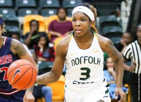 Spartans drop 4th straight in 77-65 loss at Hampton onMonday