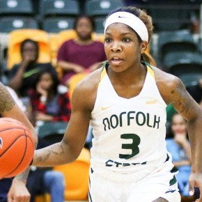 Spartans drop 4th straight in 77-65 loss at Hampton on Monday