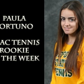 Fortuno earns MEAC Rookie of the Week Honors