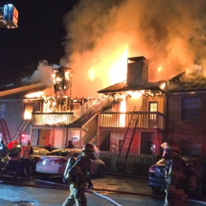 21 displaced after Henrico County apartmentfire