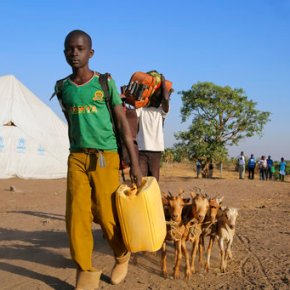 Uganda at 'breaking point' as South Sudan refugees pourin