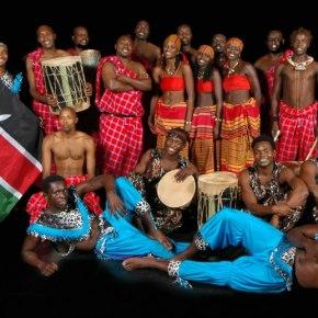 Famous Zuzu African Acrobats perform at Norfolk State April19