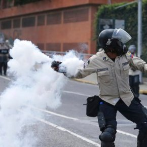 Venezuelans pour into Caracas streets in anti-Maduro protest