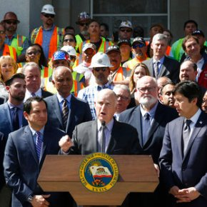 California math: 1 vote = $500 million in road, rail work