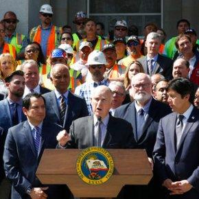 California math: 1 vote = $500 million in road, railwork