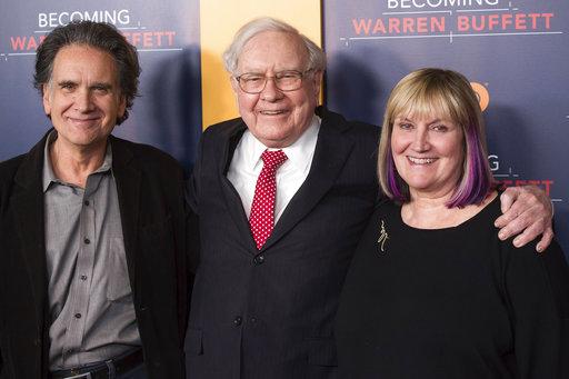 Peter Buffett, Warren Buffett, Susie Buffett