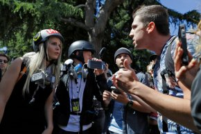 Berkeley protests peaceful as hundreds rally overCoulter