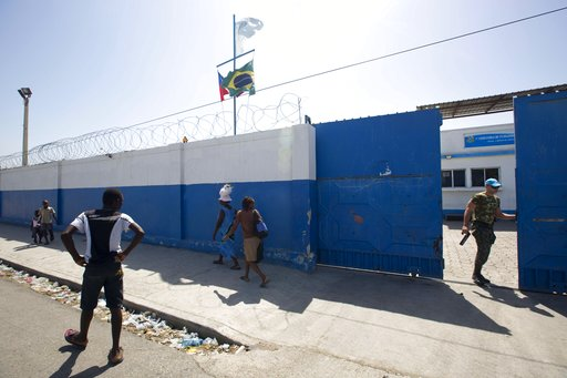 US says withdrawing UN military from Haiti is good example