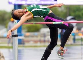 Hayes wins high jump at Morgan State LegacyMeet