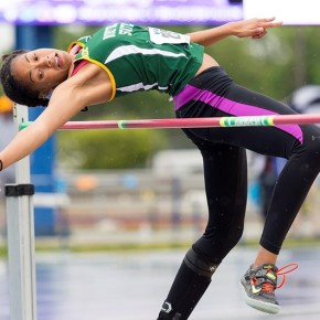 Hayes wins high jump at Morgan State Legacy Meet
