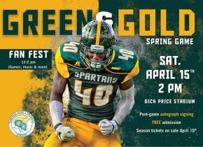 Green & Gold spring football game, Fan Fest set for April15