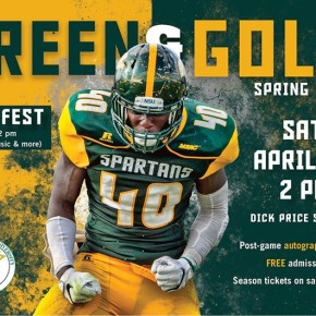 Green & Gold spring football game, Fan Fest set for April 15