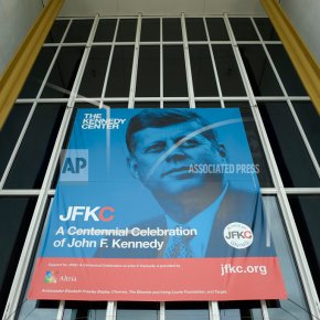 'Living memorial': Putting Kennedy back into Kennedy Center