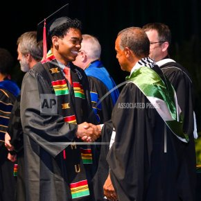 Black Harvard students holding a graduation of theirown