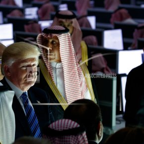 Trump avoids pointing to Saudis' human rights failings