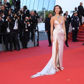 Oops! Bella Hadid suffers wardrobe malfunction at Cannes