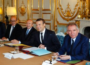 French President Macron talks to Putin, faces media uproar AP-EU-France-President