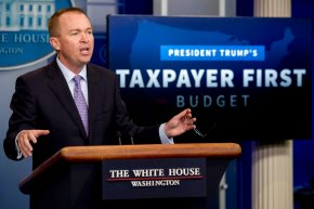 Trump budget: More for the military, less for the poor