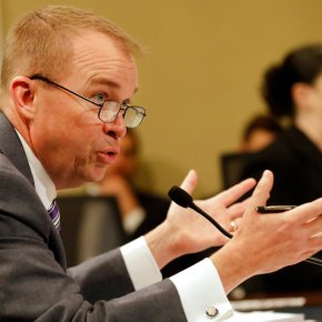 Mulvaney defends Trump budget's social safety net cuts