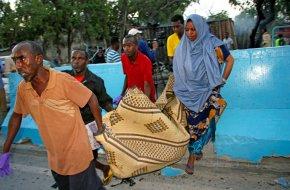 Somalia car bomb kills at least 4 in capital, policesay