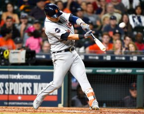Iglesias, Kinsler lead Tigers to 6-3 win over Astros