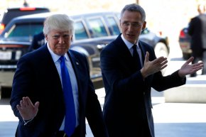 NATO leaders meet under intense Trump pressure onspending