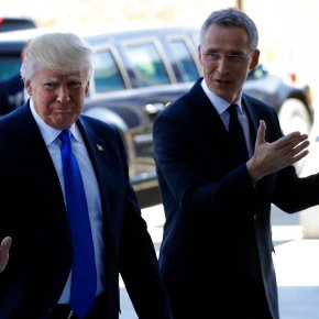NATO leaders meet under intense Trump pressure on spending