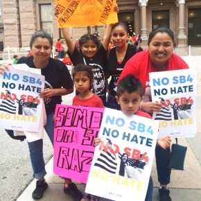 Opponents of Texas immigration disrupt legislative session