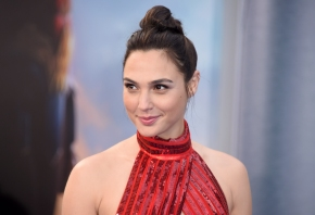 Actress Gal Gadot discovers Wonder Woman's power in costume