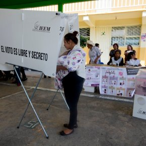 Voting ends in state election that tests Mexico ruling party