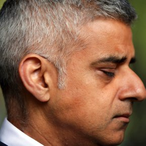 London mayor tells AP he doesn't care about Trump tweets
