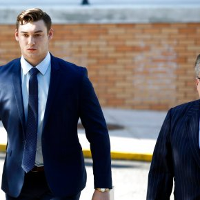 Hearing underway for frat brothers in Penn St pledge'sdeath