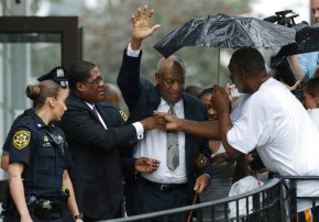 The Latest: Bill Cosby faces retrial in sex assaultcase