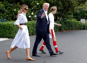 Trump goes from regal to rustic this weekend at CampDavid