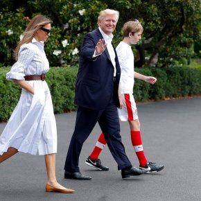 Trump goes from regal to rustic this weekend at Camp David
