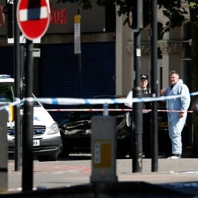 The Latest: London mosque attack 'clearly' aimed at Muslims