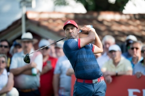 Garcia 1 stroke off lead at BMW International Open