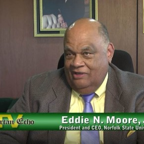 Exclusive interview with NSU President and CEO Eddie N. Moore,Jr.