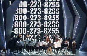 VMA artists, speakers call  for equality, suicideprevention