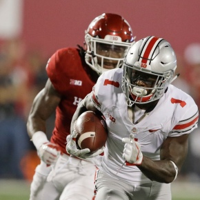 Dobbins' debut leads No. 2 Ohio State past Indiana 49-21