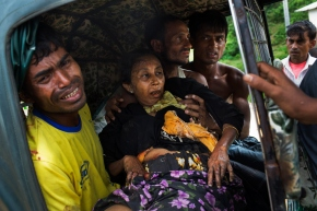 Myanmar accused of laying mines, causing Rohingyainjuries