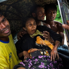 Myanmar accused of laying mines, causing Rohingya injuries