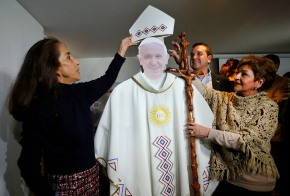 Pope heads to Colombia seeking to heal conflict's wounds