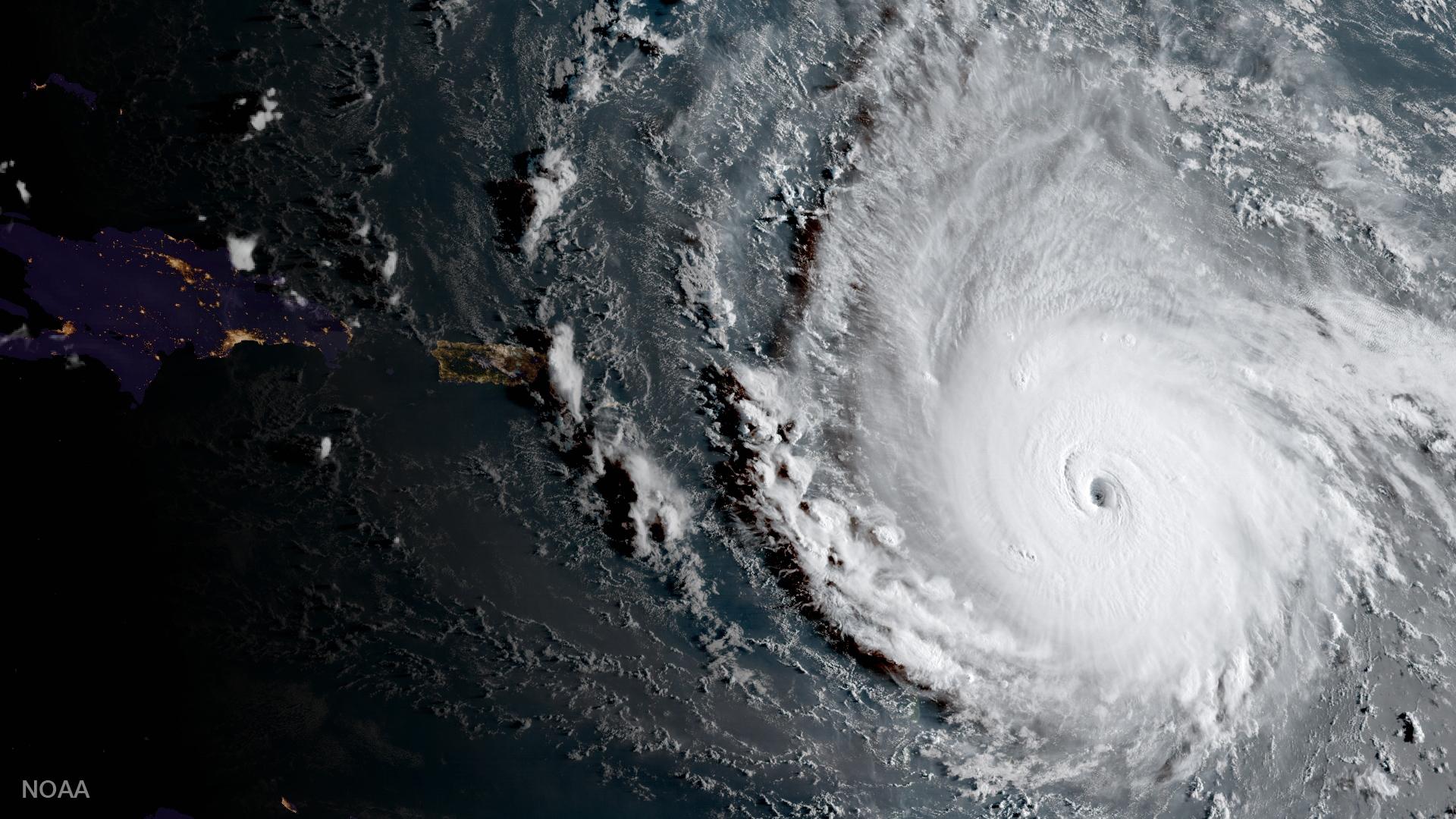 16 million in Hurricane Irma's path as it barrels through Caribbean