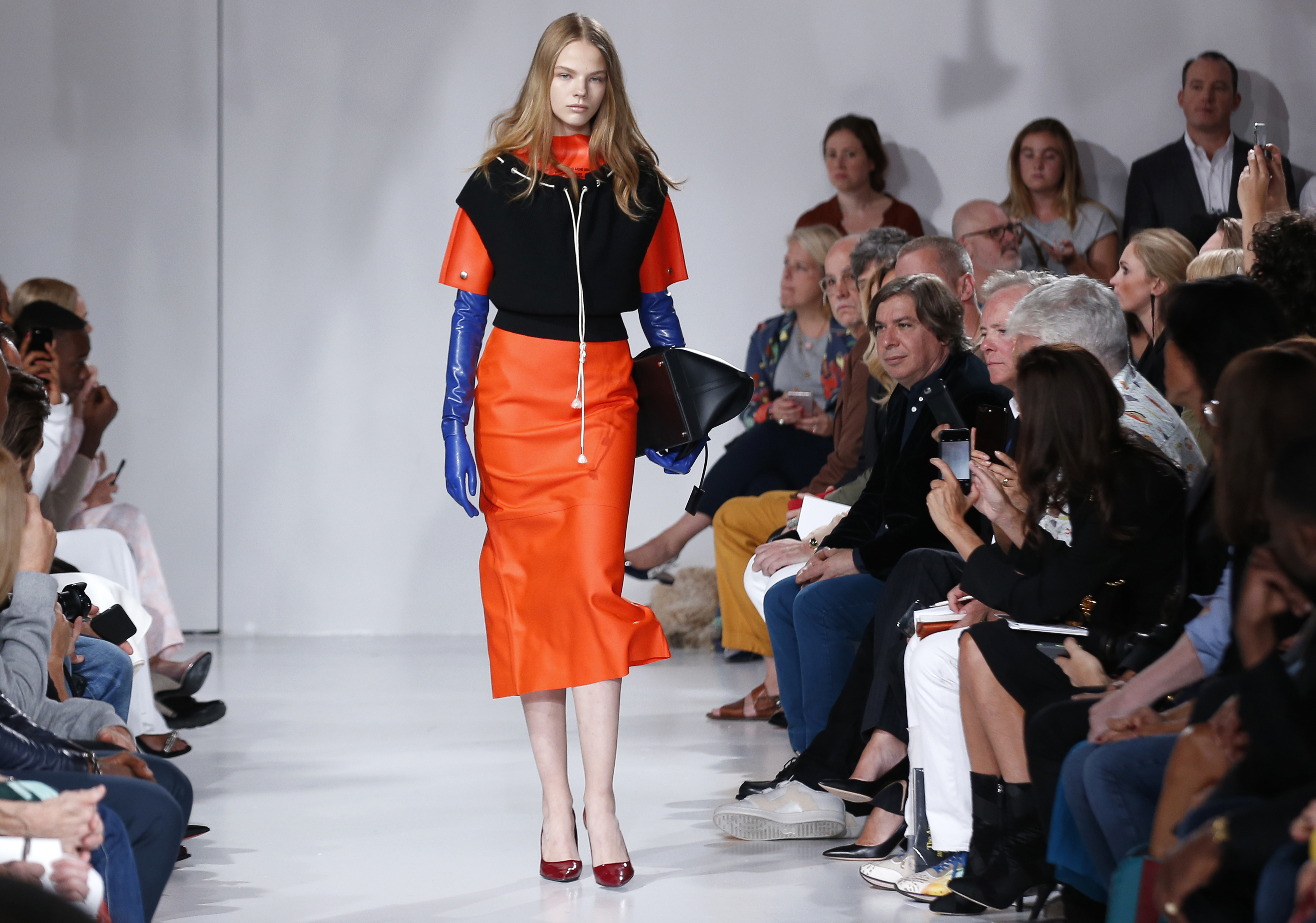 Cindy Crawford's Model Daughter Kaia Gerber Makes Her Runway Debut