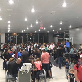 Police shoot armed man at Miami airport amid Irma evacuation