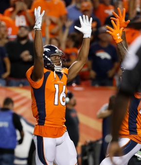 Broncos block late FG, top Chargers 24-21 in Joseph'sdebut