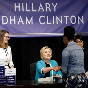 White House accuses Clinton of 'reckless attacks' in book
